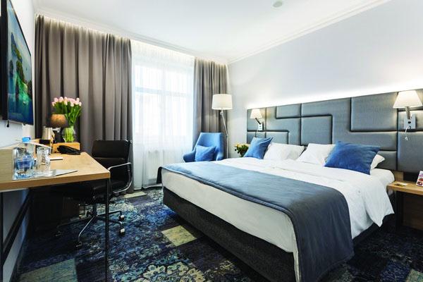 luksusowy pokój hotelowy w poznaniu delux